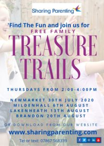 Sharing Parenting Family Treasure Trail Flyer