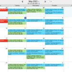 Sharing Parenting Calendar